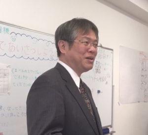 米津利仁先生の写真